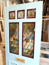 a style stained glass front door victorian window clings