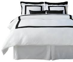 lacozi boutique hotel collection black duvet cover set queen
