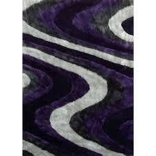 purple and gray area rug