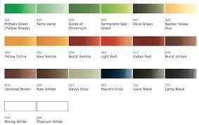 Umber Color Chart Burnt Umber Color Chart Google Search Color Inspiration