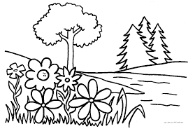 Small Picture Coloring Pages Of Flowering Plants Coloring Pages