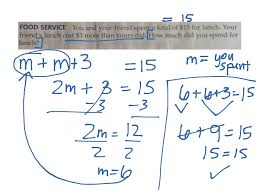 two step equations with integers worksheet