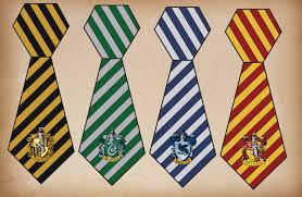 Harry Potter Printable House Ties