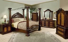 Oak Bedroom Sets King Size Beds King Size Poster Bed Frame