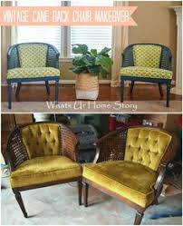 antique cane chair makeover how to reupholster a chair