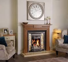stovax victorian tiled fireplace in highlight polished