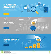 set of flat line design web banners for company startup finance set of flat line design web banners for banking and finance investment market research