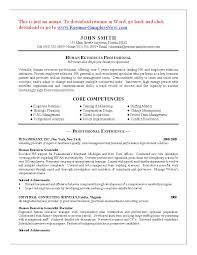 Resume Objective Examples Hr Assistant Amazing Human For