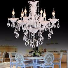 Us 21576 13 Offcafe Weiß Mini Kronleuchter Luxus Schlafzimmer 6 Lichter Kinder Leuchte Kristall Kronleuchter Kinderzimmer Licht Chrom Kerzen In