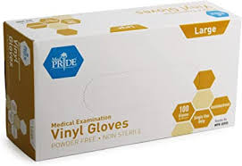 Medpride Medical <b>Vinyl</b> Examination Gloves | Latex and Powder <b>Free</b>