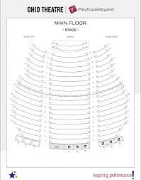 Playhouse In The Park Seating Chart Seating Charts Playhouse Square