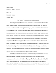 jacob weiner the power of words research essay the power of words research essay