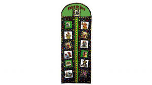 Embroidered Growth Chart Growth Chart Baby Lock