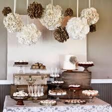 rustic elegant furniture. burlap lace wedding reception decor rustic elegant neutral tones dessert table furniture