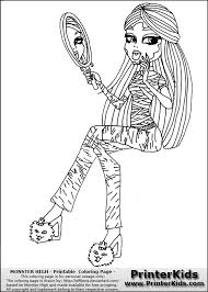 Small Picture Monster High Nefera Coloring Pages GetColoringPagescom