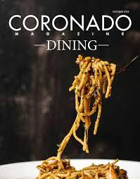 Tide Chart Coronado Coronado Magazine Fall Winter Dining Guide By Coronado