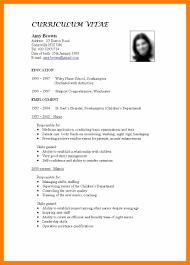 7 Standard Curriculum Vitae Sample Janitor Resume