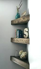 White Floating Shelves Canada Cool Corner Floating Shelves Corner Floating Shelves Canada White