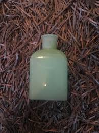 hearth and hand magnolia green jadeite milk glass square small vase farmhouse for