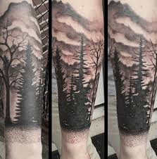 60 Návrhů Tetování Stromů Předloktí Pro Muže Nápady Na Inkoustové Lesy