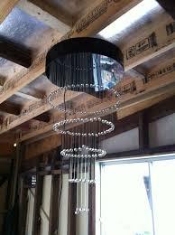 picture of led fiber optic chandelier
