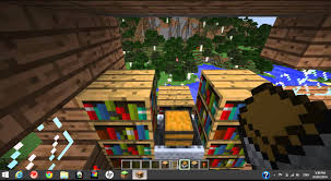 how to make a bookshelf in minecraft. Fascinating How To Make A Working Bookshelf In Minecraft Pics Of Bookcase Concept And With Desk