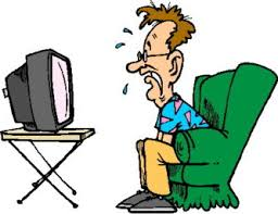 boy watching tv clipart. human watch tv clipart boy watching