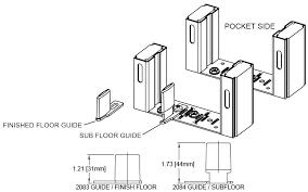 door guides hardware bypass pocket door frame sliding pocket door guide kit pocket door bottom guides home depot closet door guides