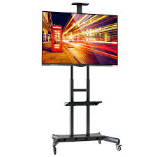 Large Screen Tv Stands Tv Stand Amazing Dyconn Dms 172 Mobile Tv Stand Mount 47 Mobile