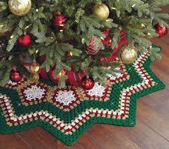 Christmas Tree Skirt Crochet Pattern Gorgeous Mary Maxim Sparkle Christmas Tree Skirt