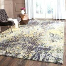 gray multi and yellow area rug shuff charcoal mustard n