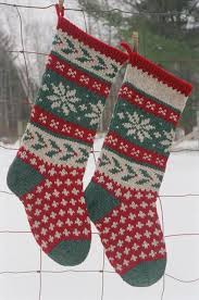 Easy Christmas Stocking Knitting Patterns Free