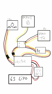 help needed a video switcher please a 5v bec will be connected to the vector to power my immersion receiver the immersion receiver will power the 5v video switcher if i connect the vectors