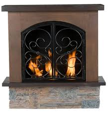 portable gas fireplace outdoor
