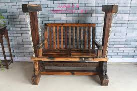 old wooden boat original ecological wood gany rocking chair swing chair toy chair lounge chair love seat swing chair with 2129 41 piece on