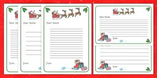Letter To Example Santa Template Pdf Save Resource From Free