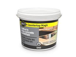 add sakrete countertop magic to sakrete concrete mix or concrete mixes of equivalent quality to produce cast in place or precast concrete countertops