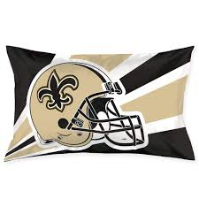 marrytiny custom pillowcase colorful new orleans saints american football team bedding pillow covers rectangular pillow cases for home couch sofa bedding