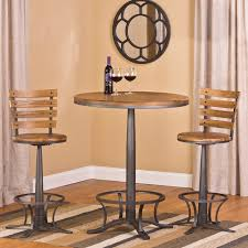 westview bar height 3 piece bistro set contemporary indoor pub pertaining to cafe table and chairs