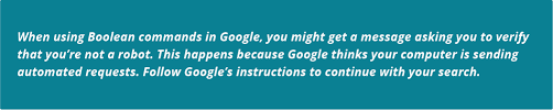 Google Search Commands How To Find Candidates By Location Boolean Search Recruiting