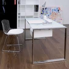 modern minimalist office computer. furniture posh minimalist desk with ware chair and open storage plus wooden floor for office design modern computer