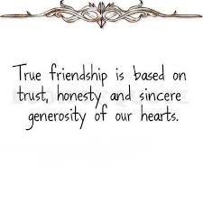 Quotes About Honesty In Friendship Best Deep Friendship Quote True Friends Trustare Honest And Have A