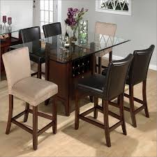 counter height storage dining table carlsbad rectangle with regard to glass plans 8