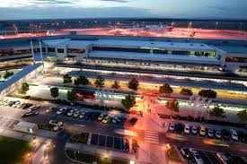 melbourne airport forecourt