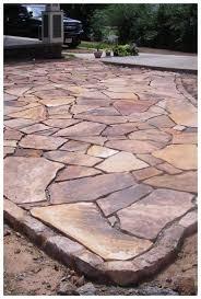 25 diy flagstone patio ideas