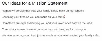 Mission Statement Example How To Write A Mission Statement In 6 Steps Template