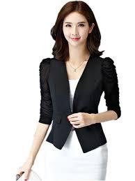 Summer Coat Design Kebinai Spring Summer Short Design Women Jacket Suit Blazer