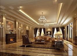 luxury home lighting. Luxurious Interior Of Living Room Luxury Lighting Sofa Design 3d Home A