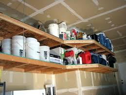 hanging wood garage shelves medium size of ceiling garage storage ideas above garage door storage hanging hanging wood garage shelves