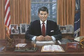 ronald reagan oval office. Ronald Reagan - It Can Be Done Oval Office